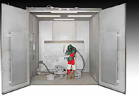 Pre-Engineered Blast Booths (PEB)